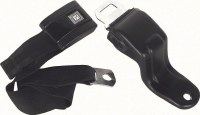 67 68 69 Camaro & Firebird Standard Front Seatbelt Set OE Style Black Each