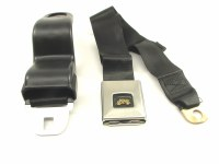 1967 Camaro & Firebird Deluxe Front Seatbelt Set OE Style Black Each