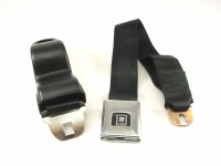 68 69 Camaro & Firebird Deluxe Front Seatbelt Set OE Style Black Each
