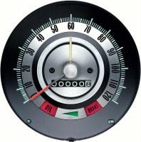1968 Camaro 120 MPH Speedometer Head w/Speed Warning OE Quality! GM# 6481845