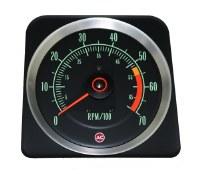 1969 Camaro Tachometer 5500/7000 Redline OE Quality! Original GM# 6469382