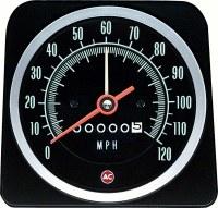 1969 Camaro 120 MPH Speedometer Speed Warning OE Quality! GM# 6482888