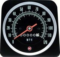 1969 Camaro 120 MPH Speedometer Head Assembly OE Quality! GM# 6482887