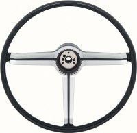 1968 Camaro Deluxe Steering Wheel w/Satin Finish Insert Original GM# 9747536