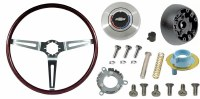 1969 Camaro Rosewood Steering Wheel Kit  With Tilt Steering