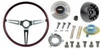 1969 Camaro Rosewood Steering Wheel Kit  With Tilt Steering