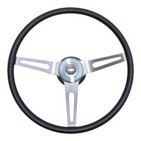 1969 Camaro Comfortgrip Steering Wheel Kit Without Tilt Steering  Black