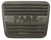 1967 1968 Camaro & Firebird Parking Brake Pedal Pad  GM# 3893181