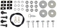 1968 1969 Camaro Console Gauge Assembly Hardware Kit