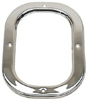 1969 Camaro & Firebird Shifter Boot Retainer Chrome For Models Without Console
