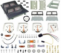 1968 1969 Camaro Console Gauge Kit Unassembled w/Low Fuel Warning Module