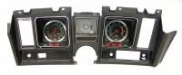 1969 Camaro Dash Cluster Assembled 5/7K Tach Dash Clock & 140 MPH Black
