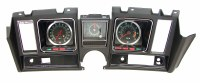 1969 Camaro Dash Carrier Or Instrument Panel Cluster  Includes: 6000/7000 Tachometer Center Dash Clock & 140 MPH Speedometer Fully Assembled Show Quality!  Black