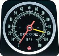 1969 Camaro 140 MPH Speedometer Head w/Speed Warning OE Quality! GM# 6492576