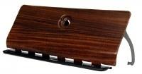 1969 Camaro Rosewood Glove Box Door Assembly