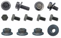 67 68 Camaro & Firebird Steering Column Mounting Hardware Kit 9 Piece Kit
