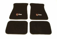 1967-81 Camaro Floor Mats Black With  Z/28 Logo  Made In The USA!
