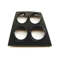 68 69 Camaro Console Gauge Housing Cover  Black