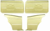 1968 Camaro Coupe Standard Door Panel Kit Pre-Assembled OE Style Ivy Gold