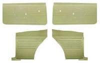 1968 Camaro Coupe Standard Interior Unassembled Door Panel Kit  Ivy Gold