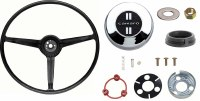 1967 Camaro Standard Steering Wheel Kit  With Camaro Horn Cap