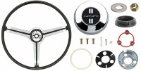 1967 Camaro Deluxe Steering Wheel Kit With Camaro Horn Cap