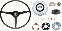 1968 Camaro Standard Steering Wheel Kit With RS Horn Cap