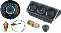1967 Camaro Dash Tach & Console Gauge Package Kit  w/5/7K Tach