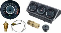 1967 Camaro Dash Tach & Console Gauge Package Kit  w/6/7 Tach
