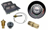1968 Camaro Dash Tach & Console Gauge Package Kit  w/6/7 Tach