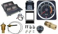 1969 Camaro Dash Tach & Console Gauge Package Kit  w/5/7 Tach