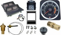 1969 Camaro Dash Tach & Console Gauge Package Kit  w/5.5/7 Tach