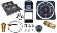 1969 Camaro Dash Tach & Console Gauge Package Kit  w/6/7 Tach