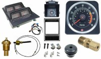 1969 Camaro Dash Tach & Console Gauge Package Kit  w/6/8 Tach