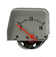 68 69 Camaro Console Volt Meter Gauge w/Silver Face