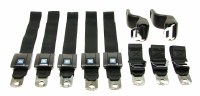 68 69 Camaro & Firebird Coupe & Convertible Standard Seatbelt Kit  Restored GM