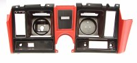 1969 Camaro Dash Cluster Instrument Panel  Red