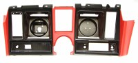 1969 Camaro Dash Cluster Instrument Panel w/Precut For Clock  Red