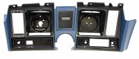 1969 Camaro Dash Cluster Instrument Panel Dark Blue