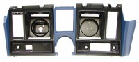 1969 Camaro Dash Cluster Instrument Panel w/Precut For Clock Dark Blue
