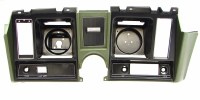 1969 Camaro Dash Cluster Instrument Panel  Dark Green