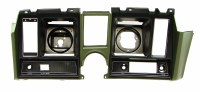 1969 Camaro Dash Cluster Instrument Panel w/Precut For Clock & Tach Dark Green
