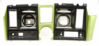 1969 Camaro Dash Cluster Instrument Panel w/Precut For Clock & Tach  Light Green