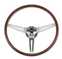 1969-1974 Camaro Rosewood Steering Wheel Kit w/SS Horn Cap No Tilt
