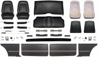1967 Camaro Coupe Master Standard Interior Kit  Black