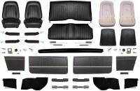 1967 Camaro Convertible Master Standard Interior Kit  Black