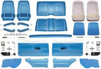 1967 Camaro Coupe Master Deluxe Interior Kit  Bright Blue