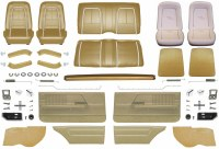 1967 Camaro Coupe Master Deluxe Interior Kit  Gold