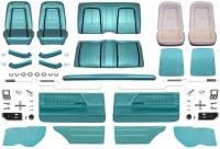 1967 Camaro Coupe Master Deluxe Interior Kit  Turquoise