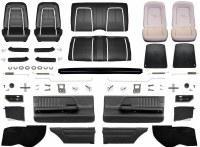 1967 Camaro Convertible Master Deluxe Interior Kit  Black